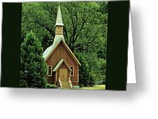 Small Chapel  Greeting Card