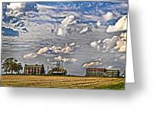 Small Farms Fading Fast Greeting Card