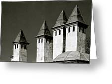 The Small Minarets Greeting Card
