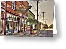 Small Town U. S. A. Greeting Card