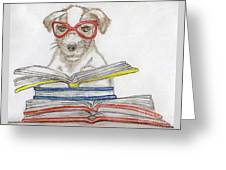 Doggy Love Greeting Card