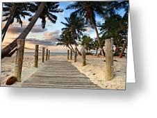 Smathers Beach 2 Greeting Card