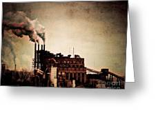 Smelter Greeting Card