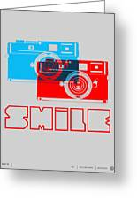 Smile Camera Poster Greeting Card