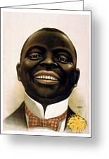 Smiling African American Circa 1900 Greeting Card