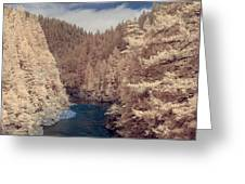 Smith River Forest Canyon Greeting Card