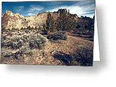 Smith Rock In Autumn Greeting Card