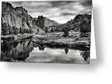 Smith Rock State Park 2 Greeting Card