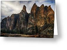 Smith Rock State Park 3 Greeting Card