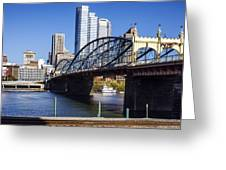 Smithfield Street Bridge Greeting Card