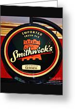 Smithwick Sign Greeting Card