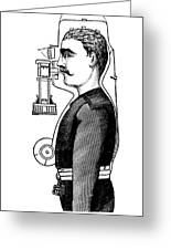 Smoke Hood, 1880s Greeting Card
