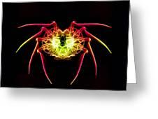 Smoke Spider Greeting Card