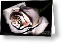 Smoked Rose Greeting Card