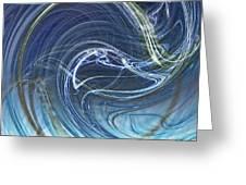 Smokescreen Fractal 1 Greeting Card