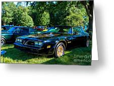 Smokey And The Bandit Greeting Card