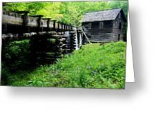 Smoky Mountain Mill Greeting Card