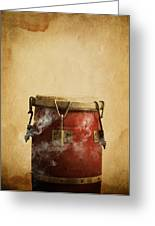 Smoking Congas Greeting Card