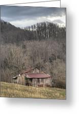 Smoky Mountain Barn 1 Greeting Card