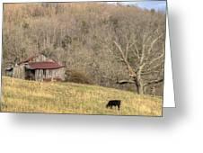 Smoky Mountain Barn 10 Greeting Card
