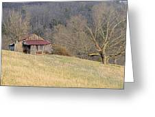 Smoky Mountain Barn 9 Greeting Card