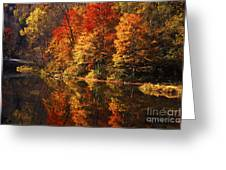 Smoky Mountain Colors - 235 Greeting Card