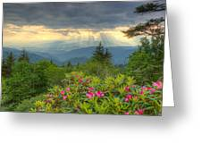Mountain Grandeur Greeting Card