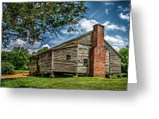 Smoky Mountain Pioneer Cabin E126 Greeting Card