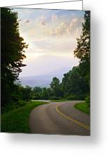 Smoky Mountains Scene Greeting Card