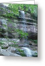 Smoky Moutains Greeting Card by LCS Art