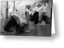 Smooth Aikido Greeting Card
