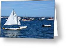 Smooth Sailing Greeting Card