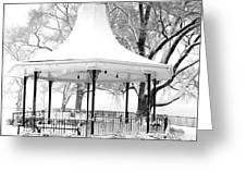 Smothers Park Gazebo Greeting Card