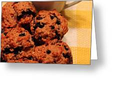 Snack Time - Muffins And Coffee Greeting Card