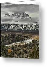 Snake River - Tetons Greeting Card