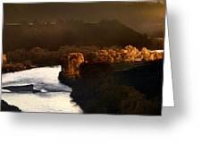 Snake River Canyon Greeting Card