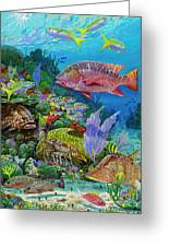 Snapper Reef Re0028 Greeting Card