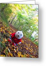 Snebamse Is Here Greeting Card