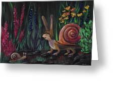 Snellius Fluffius Greeting Card