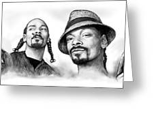 Snoop Dogg Group Art Drawing Sketch Poster 30x85cm Greeting Card
