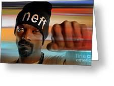 Snoop Lion Greeting Card
