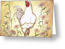 Snooty The Rooster Two Greeting Card