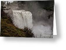 Snoqualmie Falls Greeting Card