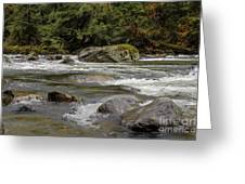 Snoqualmie Rapids Washington Greeting Card