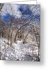 Snow Arches Greeting Card