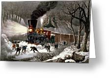Snow Bound Greeting Card