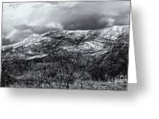 Snow Capped 45 Greeting Card