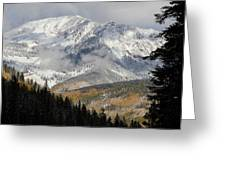 Snow Capped Beauty Greeting Card