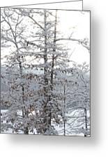 Snow Day V Greeting Card