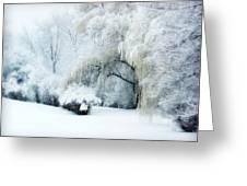 Snow Dream Greeting Card by Julie Palencia